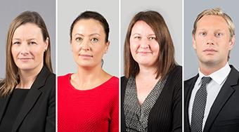 Chula O'Donoghue, Julia Keppe, Marie-Claire Fudge and Oliver Richardson