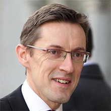 Ian Gorst portrait