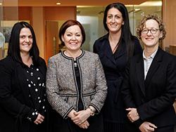 Sarah Locker, Wendy Inns, Vicky Mills, Cordelia Miller