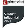 eprivateclient 50 most influential 2021