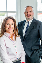Louise Bracken-Smith and Stuart Platt-Ransom