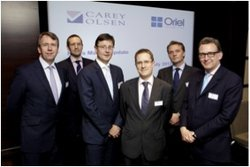 Oriel Securities and Carey Olsen